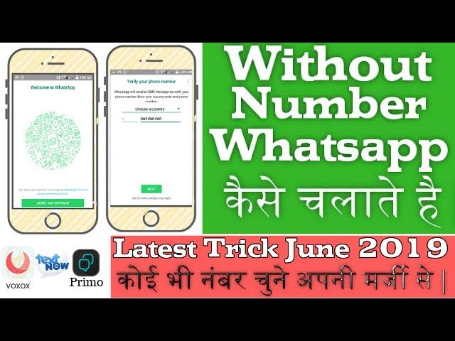 13 68 MB] How to create fake whatsapp account 2019 | fake whatsapp
