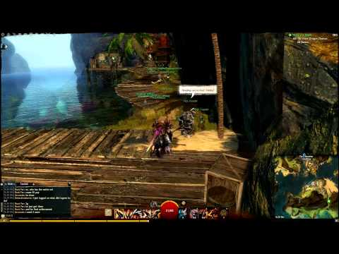 Guild Wars 2 - Quest For Legendary - Bloodstone Shard (gameplay/commentary)