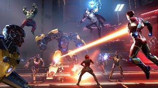 Marvel's Avengers Co-Op With Friends Powered by Intel #Intel10thGen