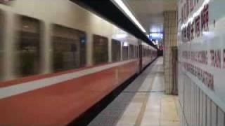 101次復興號列車台北進站(以莒光號替代行駛)