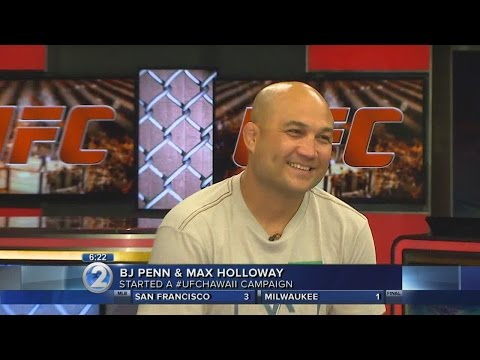 Penn, Holloway want UFC to come to Hawaii
