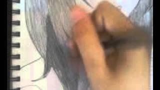 "Drawing Kurenai from ""Naruto"" (speed drawing)"