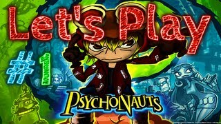 Let's Play Psychonauts [BLIND] *Part 1*