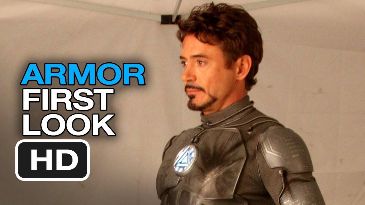 Iron Man 3 - Armor First Look (2013) Robert Downey Jr Movie HD ...