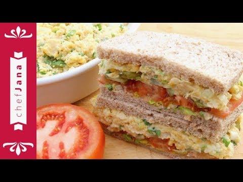 How To Make Chickpea Tuna Salad ⎢Vegan Tuna