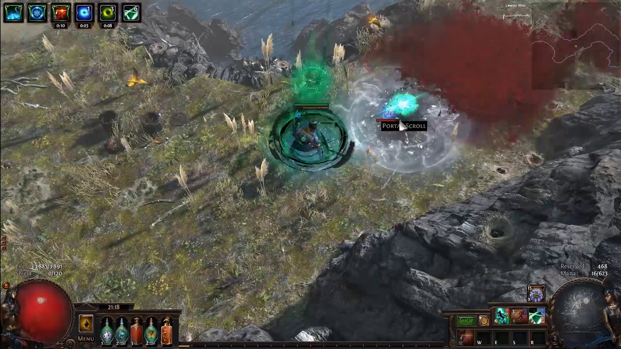 Open a Portal    to Saqawal's Roost, Blade Flurry, Inquisitor, Bestiary  League [3 2]