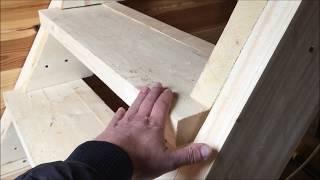 как сделать простую лестницу на второй этаж своими руками