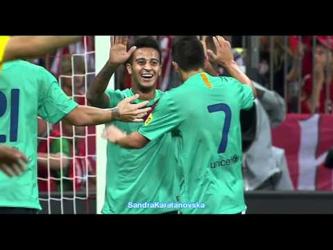 Thiago Alcantara vs Bayern M. amazing goals