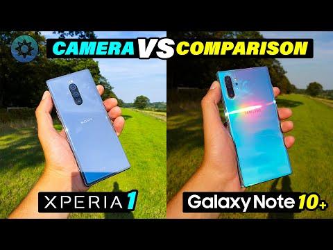 Note 10 Plus Vs Sony Xperia 1 | Camera Comparison Shootout 📸