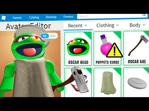 PUPPET DISGUISE TROLLING!! | Pretending To Be FAKE OSCAR THE GROUCH In Roblox PUPPET!! [Piggy Game]