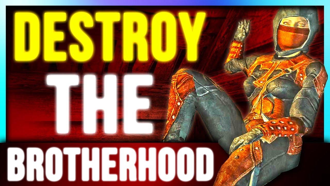 Skyrim Secrets – DESTROY The Dark Brotherhood - WORTH IT? (Shrouded Armor &  Blade of Woe - Assassin)