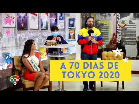 Rueda de Prensa Comité Olímpico Venezolano a 70 días de Tokyo 2020!