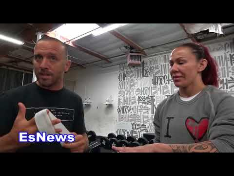 UFC Superstar Cris Cyborg A Day In Her Life EsNews Boxing