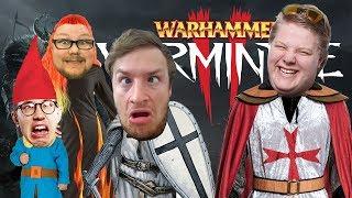 4 Vollidioten im Kampf! | Warhammer Vermintide 2 mit HandOfBlood, Brammen und Kalle