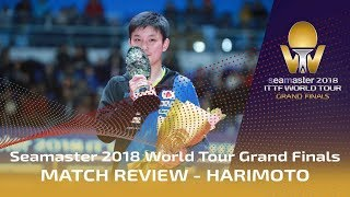 Harimoto Reviews Historic Victory | Seamaster 2018 ITTF World Tour Grand Finals