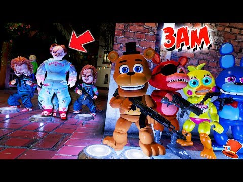 DO NOT PLAY FNAF WORLD AT 3AM! (GTA 5 Mods Kids FNAF RedHatter)