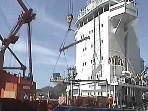 P34  OFFSHORE PLATFORM @ BRAZIL - HYDROFLOTATION SHIPMENT