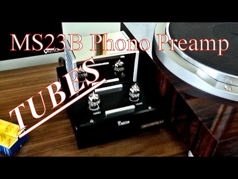 Yaqin MS23B Tube Phono Preamp    PLEASE SUBSCRIBE!!!