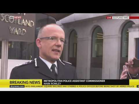 Terrorist Attack on Westminster Bridge London! (News Coverage)