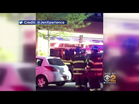 Car Crashes Into Restaurant In Mamaroneck