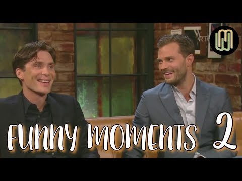 Cillian Murphy & Jamie Dornan Funny Moments PART 2