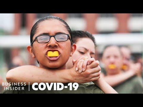 How Coronavirus Is Changing Marine Corps Boot Camp