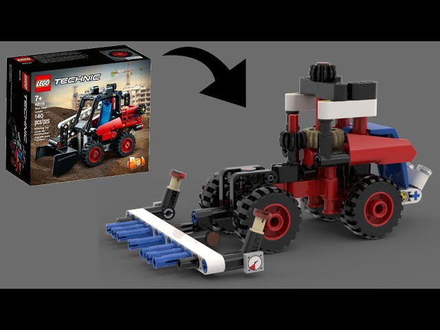 Lego 42116 C-Modell (Tractor) |+ free Instructions