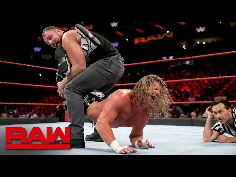 Dean Ambrose vs. Dolph Ziggler - WWE World Cup Qualifying Match: Raw, Oct. 15, 2018