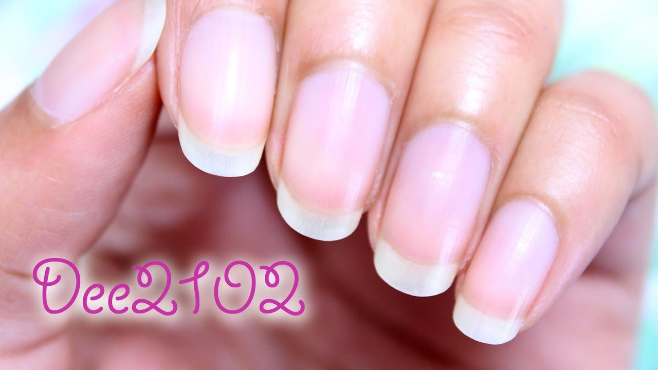 Oval Shaped Nails Tutorial | Dee2102 - YouTube