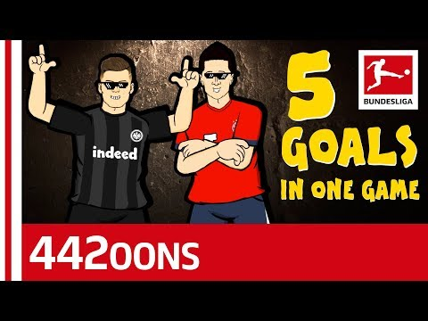 The Ultimate Luka Jovic 5 Goal Song - Powered By 442oons