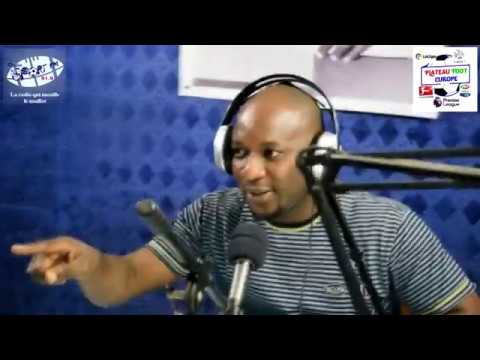 SPORTFM TV - PLATEAU FOOT EUROPE DU 12 AVRIL 2019 PRESENTE PAR ANGELO FOLLYKOE