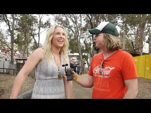 Catherine Britt - Interview with Dane Sharp and Channel C at Gympie Muster 2010