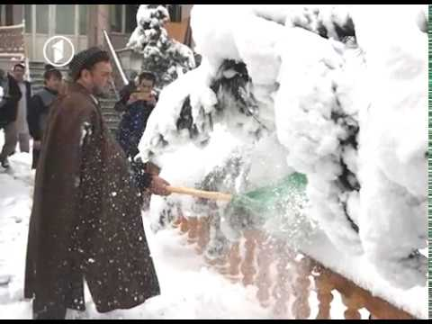 Officials Enjoy Kabul Snowy Day استقبال مقامهای حکومتی از برفباریهای اخیر کابل