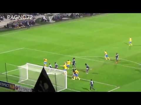 Lione Vs JUVENTUS Goal Bonucci 0-1
