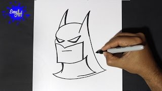 Como dibujar a batman - How to draw batman(Como dibujar a batman,how to draw batman Este video..., 2015-01-11T04:56:02.000Z)