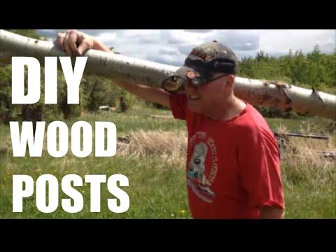 DIY Wood Posts