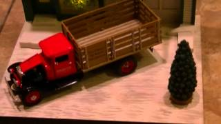 Snap-On Diorama - Winter Scene - By Crown Premiums