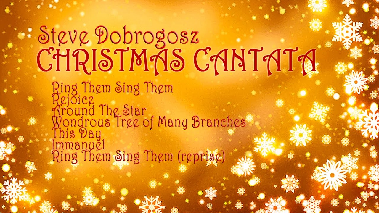 christmas cantata dobrogosz garden place choir - Christmas Cantatas For Small Choirs