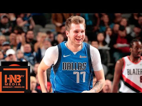 Dallas Mavericks vs Portland Trail Blazers Full Game Highlights | 12.04.2018, NBA Season