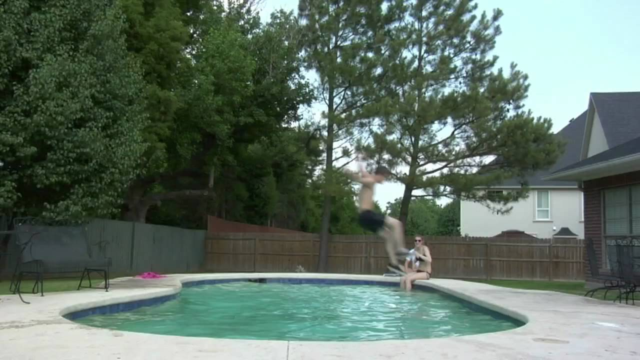 Epic pool jump youtube for Epic pool show