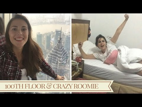 On the 100th floor & crazy roomie  | SEMESTER IN SHANGHAI | Vlog #8