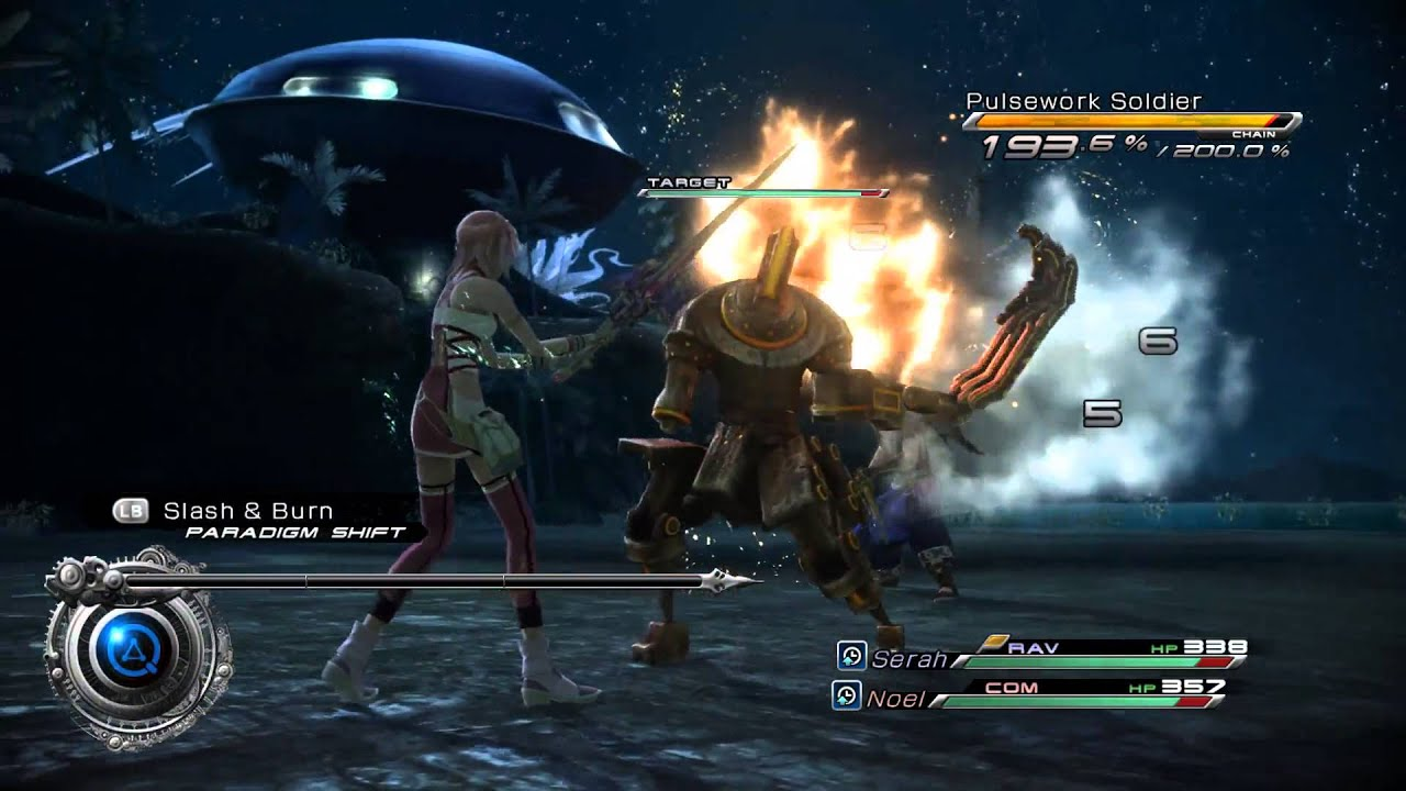 Final Fantasy XIII-2 PC after framerate fix patch(60fps)