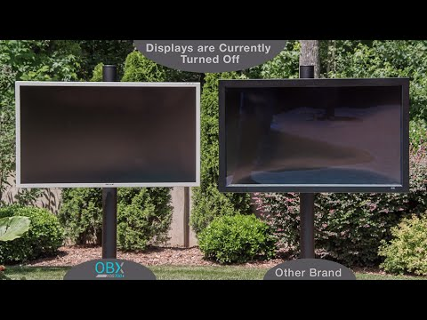 See the Difference - Compare OBX SkyVue Outdoor TV  with Competition