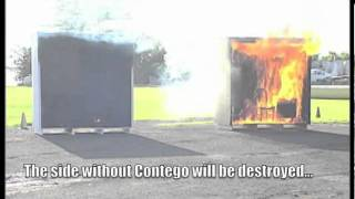 Contego Fire Barrier Test: Char Barrier in Puerto Rico Thumbnail