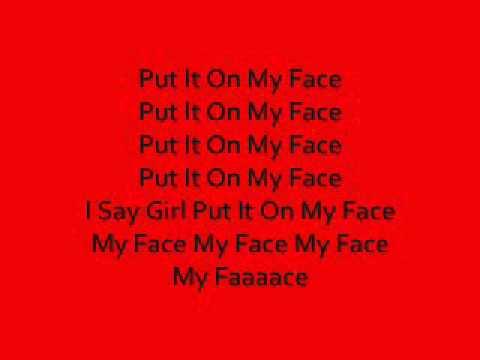 Tha Joker   Put It On My Face   Lyrics On Screen
