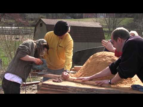 Building a Wood Fired Oven Part 3 Sand Form & Door