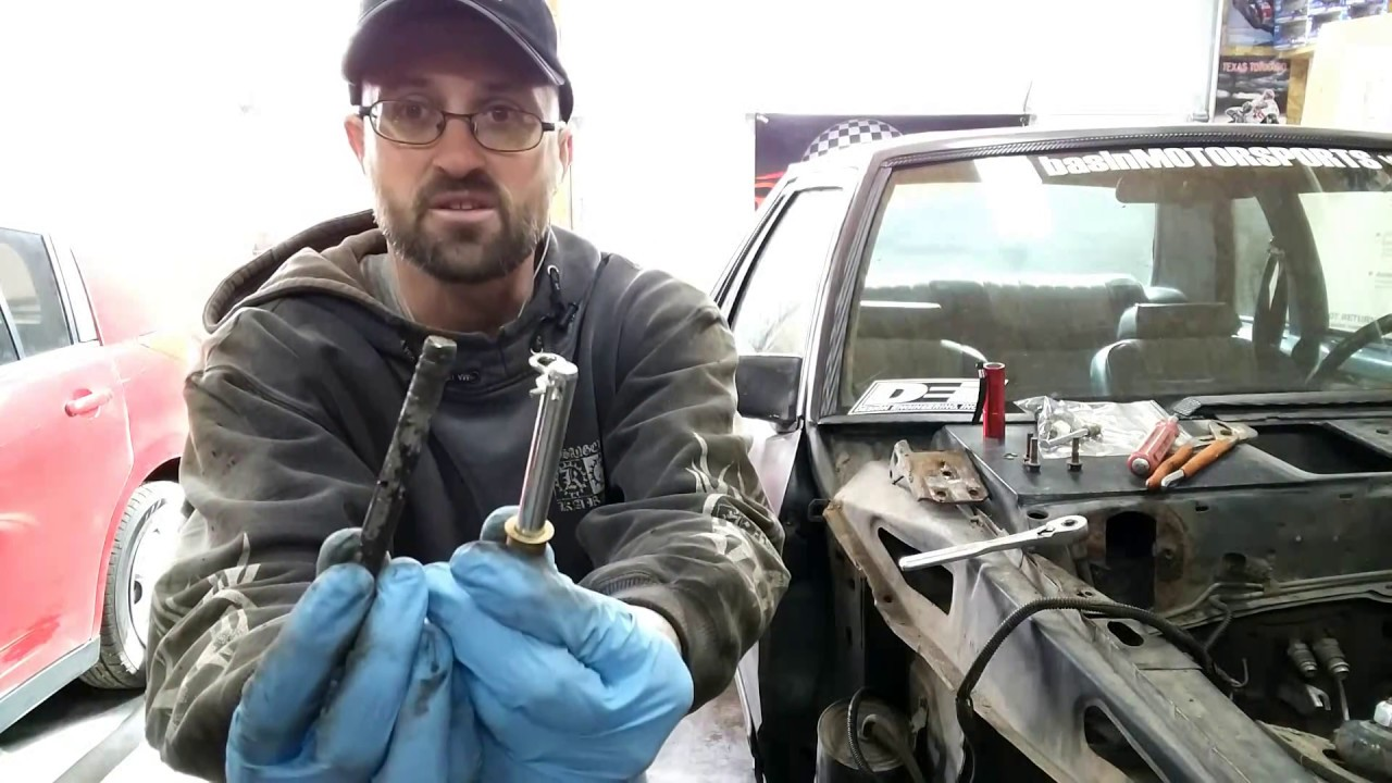 Replacing The Ford Mustang Foxbody Door Hinge Pins Youtube