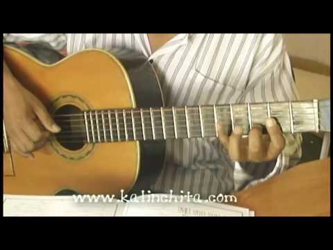 Amorcito Corazon - Pedro Infante - Como tocar en guitarra acordes