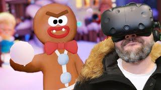 Pojedynek na ŚNIEŻKI - Merry Snowballs (HTC VIVE VR)