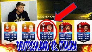 EURO 2016 DEUTSCHLAND vs. ITALIEN FUT DRAFT! - FIFA 16: ULTIMATE TEAM (DEUTSCH)